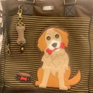 Chala Golden Retriever Work Tote